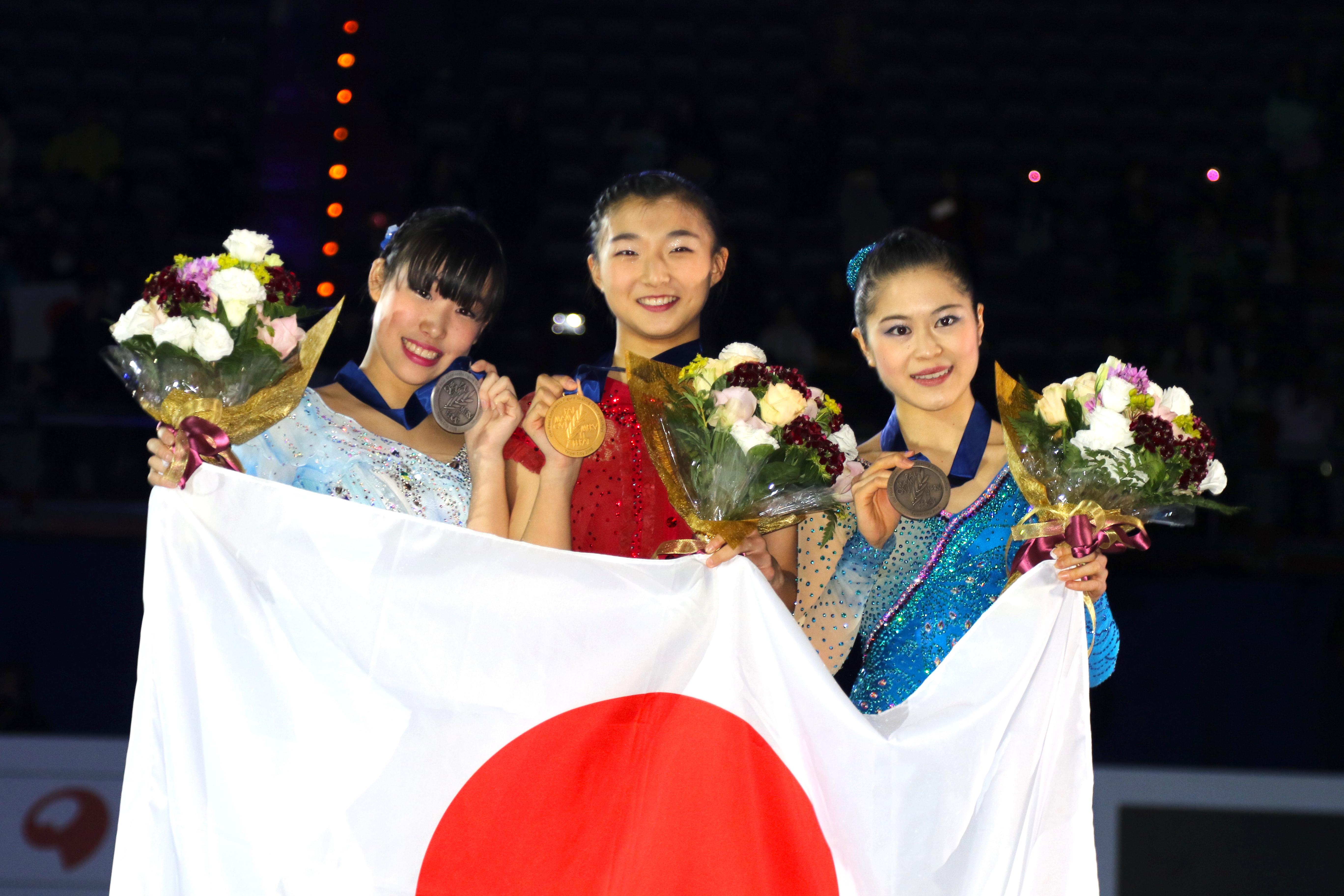 四大陸選手権で坂本花織が優勝