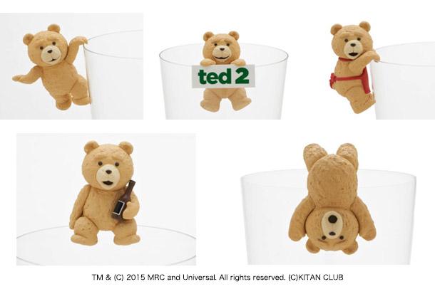 ヴィレッジヴァンガード限定コップのフチのTEDが登場!
