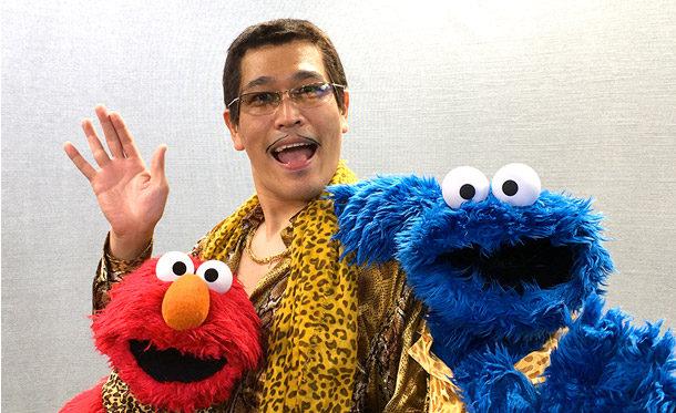 エルモとクッキーモンスターが「PPAP」をアレンジ!?