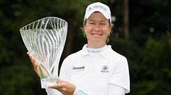 カトリーナ・マシューがレディス・アイリッシュ・オープンで優勝