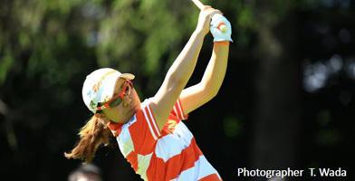 宮里美香日本女子オープンゴルフ選手権競技2度目の優勝