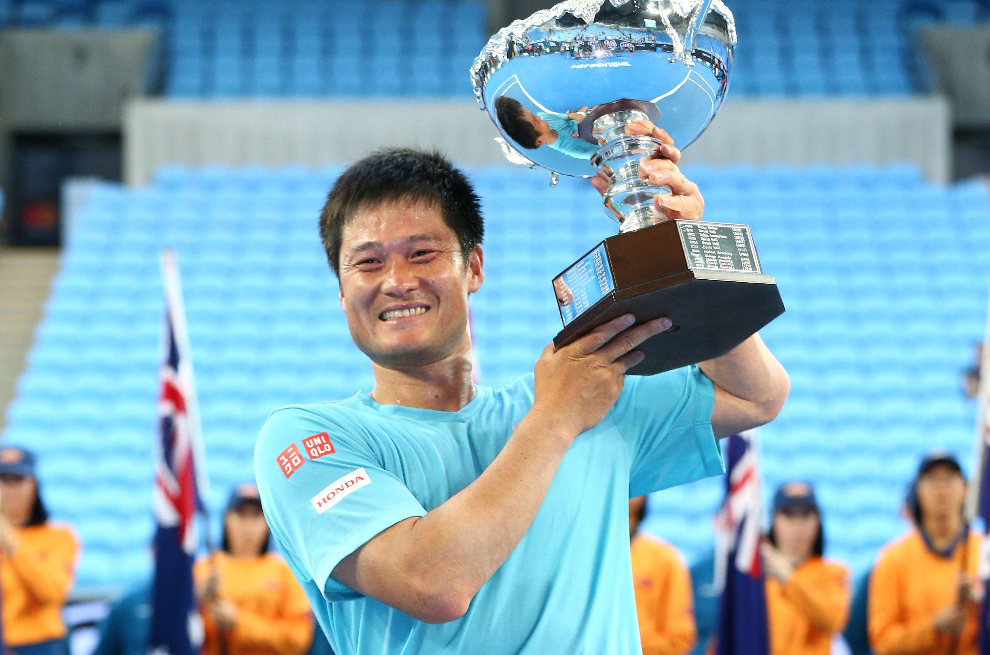 国枝慎吾が全豪オープンで優勝