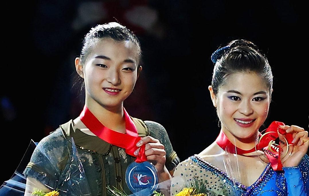 スケートアメリカで宮原知子が優勝、坂本花織が2位!